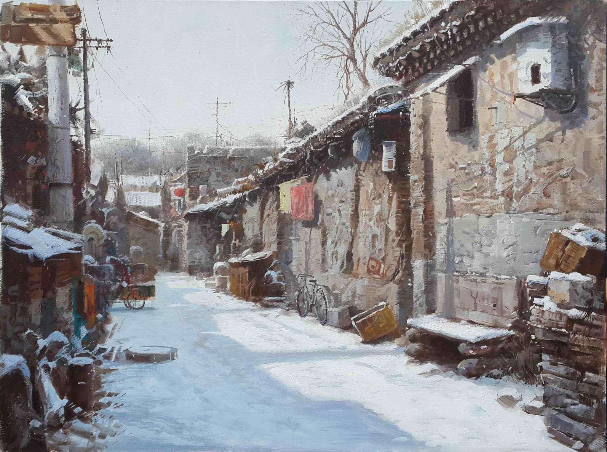 老北京胡同 - 枫之林文化中心